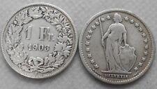 Schweiz 1 Franken 1903 Ag