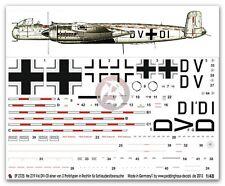 Peddinghaus 1/48 He 219 A-0 V6 Markings Ejection Seat Test Plane Rechlin 2725