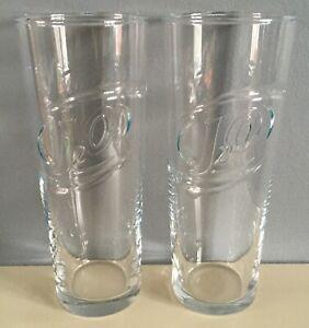 2 X New J2O DRINK GLASSES