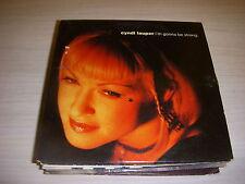 CD MUSIQUE 2 TITRES - Cindy LAUPER - I'M GONNA BE STRONG - A PART HATE - 1995