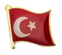 Turkey Flag Badge Enamel Pin Metal Lapel Turkish Turk