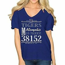 3T,4T TWO FEET AHEAD blue w hearts short sleeve Memphis Tigers logo T-shirt,2T