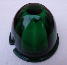 vintage green glass watermelon lenses for cab lights kenworth autocar peterbilt