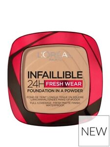 L'Oreal Paris Infallible 24H Fresh Wear (140) Golden Beige Powder Foundation