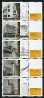 Netherlands 2018 MNH Architecture Construction New Builds 5v Strip Stamps