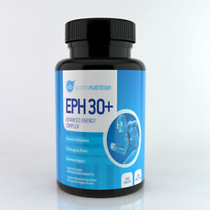 WBP Eph 30+ Pre-Workout Energy Boost Weight Loss Support Ephedrine Free Tablets