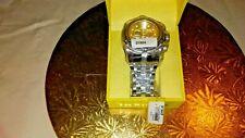 New Invicta Reserve 52mm Bolt Zeus Quartz Chronograph 21804 Stainless Bracelet
