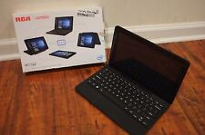 "RCA Cambio W1162 11.6"" Windows 10 Tablet with Keyboard Cracked Free Ship AS IS"