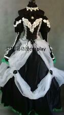 Vocaloid Miku Kaito Cantarella Black Lolita Party Dress cosplay costume