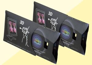 2 Loreo Pixi 3-D Viewers for Print Pictures and Computer Screen Images New