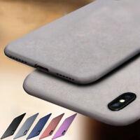 For iPhone 11 Pro X XR XS Max SE 8 7 6S Plus Soft TPU Sandstone Matte Case Cover