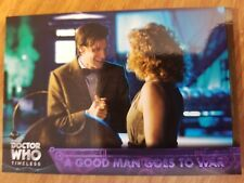 2016 Topps Doctor Who Timeless #79 A Good Man Goes to War PURPLE 37/50
