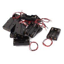 10 x Batteriefassung Box fuer 3 x 1.5V AA Batterien Q2K3 E2Y7