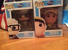 Disney/Pixar Funko Up Vinyl Figures Carl And Russell