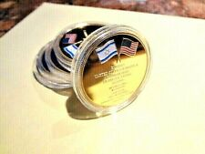 New Jerusalem USA Embassy Trump Challenge Coin- Dedicated May 14,2018!