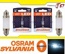 Sylvania ZEVO LED light 6418 White 6000K Two Bulbs Dome Door Trunk Mirror Door