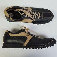 Born Black Tan Bicycle Toe Casual Fashion Sneaker B3455 Men Size 12 / 46 M/W