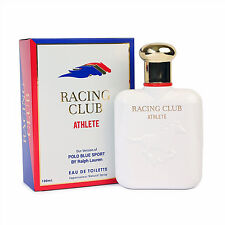 RACING CLUB ATHLETE Eau de Toilette for Men EDT Spray 3.4 oz