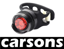rear ruby led light silicone lamp for road city mountain bike bicycle CARSONS