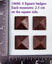 """146M """"4 badges"""" clock case / furniture DIY"""