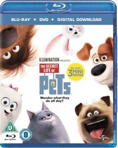 The Secret Life Of Pets (Blu-ray + DVD + Digital Download) BLU-RAY NEW