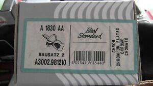 Ideal Standart Bausatz 2 A 1830AA Chrom A300.98120 Neu OVP