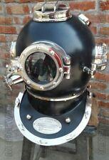 """Morse US Navy Mark V Antique Diving Helmet Size 18""""Inch Divers Helmet Vintage"""