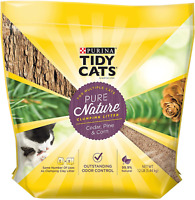 Purina Tidy Cats Natural Clumping Cat Litter, Pure Nature Cedar, Pine & Corn Cat