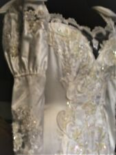 Vintage wedding gown, bridal gown (NEW, never worn) IVORY