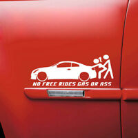 Universal Funny Auto Car Window Sticker Waterproof Truck Bumper Decal White