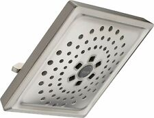 Delta 52684-Ss 3-Setting H2Okinetic Raincan Shower Head in Stainless Steel