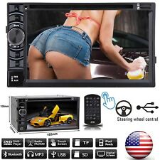2 Din 6.2inch Stereo Car DVD Player Touchscreen Radio USB For Ford F-150/250/350