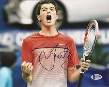 Taylor Fritz Tennis Signed Auto 8x10 PHOTO Beckett BAS COA
