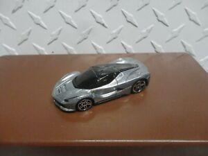 Loose Hot Wheels Silver La Ferrari