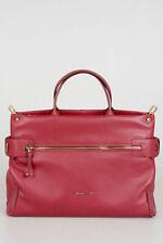 PIQUADRO women Borse LOL Red Leather Shoulder Bag Handbag Tote Shopper Red