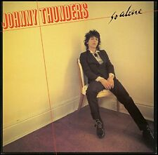 Johnny Thunders - So Alone LP Record - BRAND NEW - Color Vinyl Re-issue