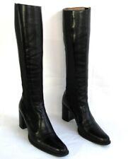 FREE LANCE - bottes QUEENIE 7 ELAST cuir veau noir 35.5-->36 - TRES BON ETAT