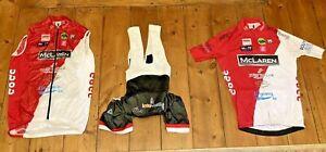 St Tropez - Monaco COCC Santini Road cycling kit Jersey + Gilet + Bib Shorts XL