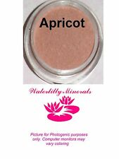 Minerals Apricot Blush Bare Makeup Cheek Warm Peach Coral Sample Size New/Sealed
