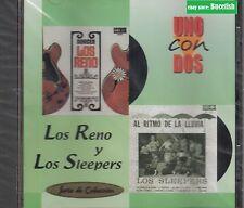 Los Reno Y Los Sleepers Uno Con Dos CD New Nuevo sealed