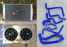Aluminum Radiator + Shrould + Hoses for Holden Commodore VT VX 3.8L V6 Petrol AT
