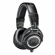 Audio Technica ATHM50X Closed Back Studio Headphones - Black ATH-M50X