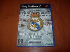 REAL MADRID CLUB FOOTBALL 2005 PS2 (PAL ESPAÑA PRECINTADO)