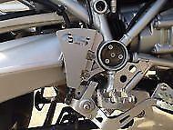 BMW R1200GS 05/12 Rear Brake Master Cylinder Protector Guard Silver Powdercoated