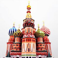 CUBICFUN 3D PUZZLE ST. BASIL'S CATHEDRAL NEW! CUBIC FUN RUSSIA SEALED! 173 PCS