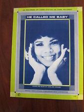 CANDI STATON He Called me baby Sheet music