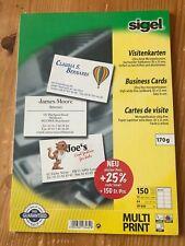 Sigel Visitenkarten 85x55mm für Drucker