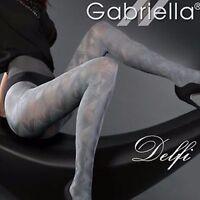 Gabriella Delfi Check Microfibre Pattern Black,Grey (459)