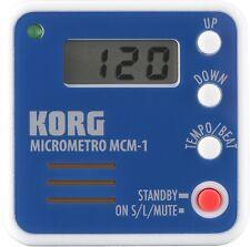 Korg MCM-1 Micrometro Clip-On Digital Metronome - Blue