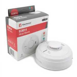 Aico Ei3014 Mains Powered Heat Alarm Battery Back-up Exp 2030/2031